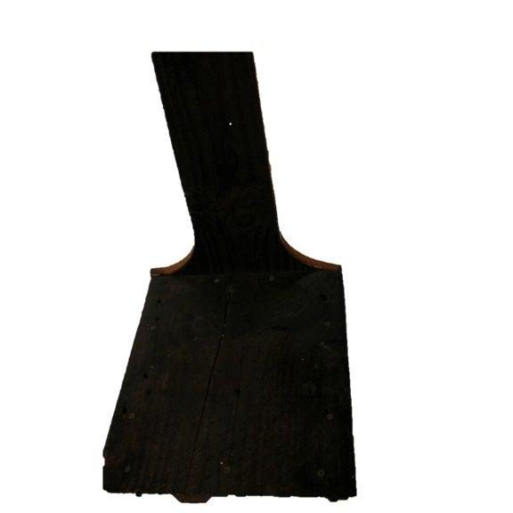 Custom Made Reclaimed Barnwood Step Stool - Image 3 of 3