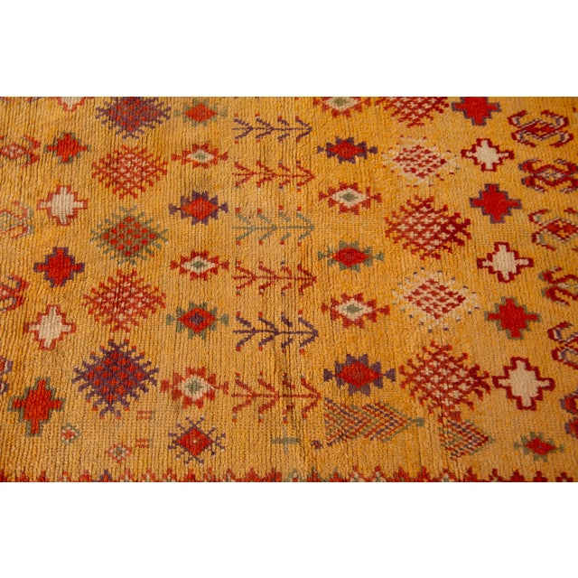 """Antique Moroccan Rug, 3'10"""" X 6'2"""" For Sale - Image 9 of 10"""
