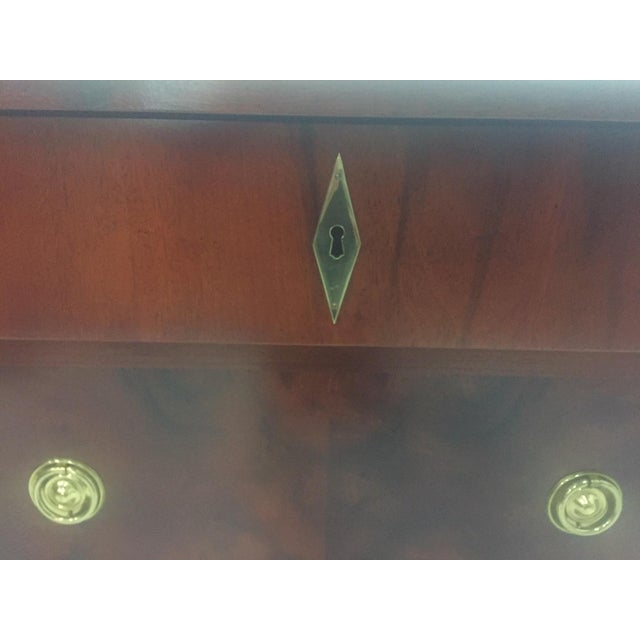 Empire Style Small Chest of Drawers Commode For Sale - Image 10 of 12