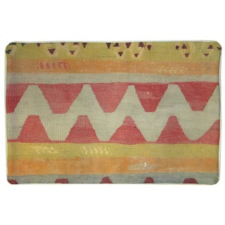 Vintage Kilim Pillowcase For Sale
