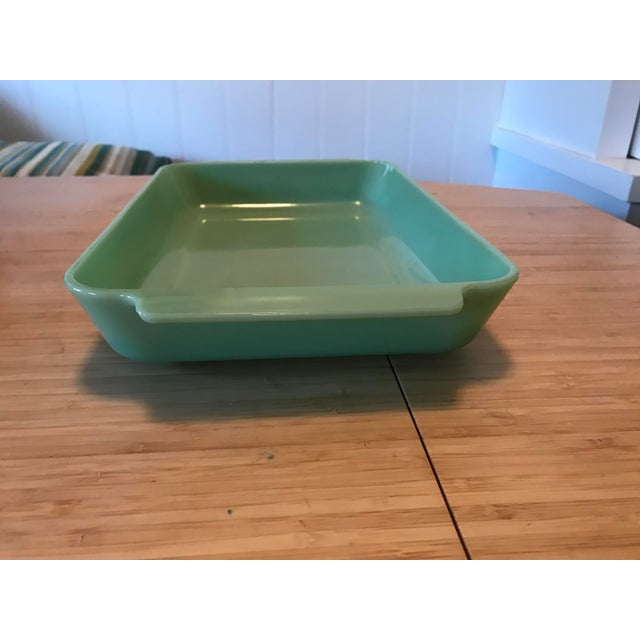 Anchor Hocking Anchor Hocking Fire King Jadeite Casserole Dish For Sale - Image 4 of 7
