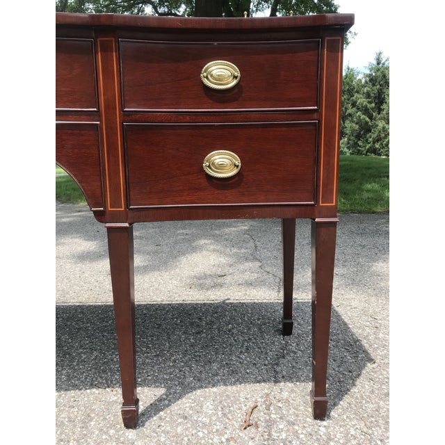 Traditional Cherry Side Board by Kindel For Sale - Image 6 of 11