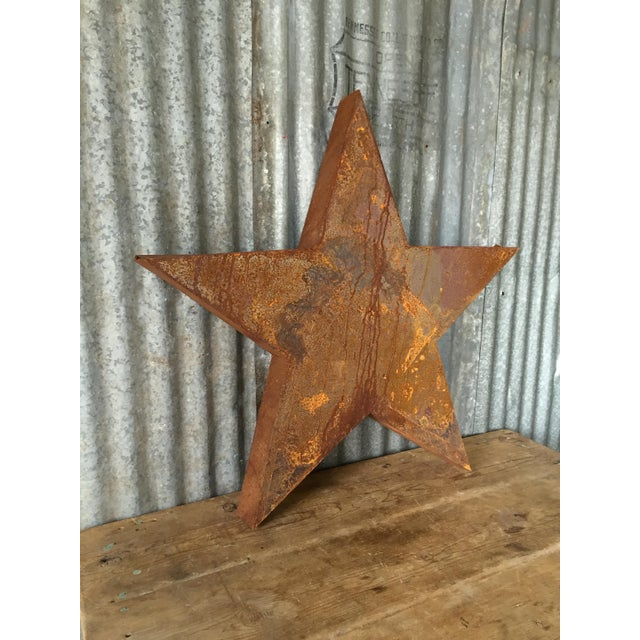 Handcrafted 3D Metal Star - Image 7 of 10