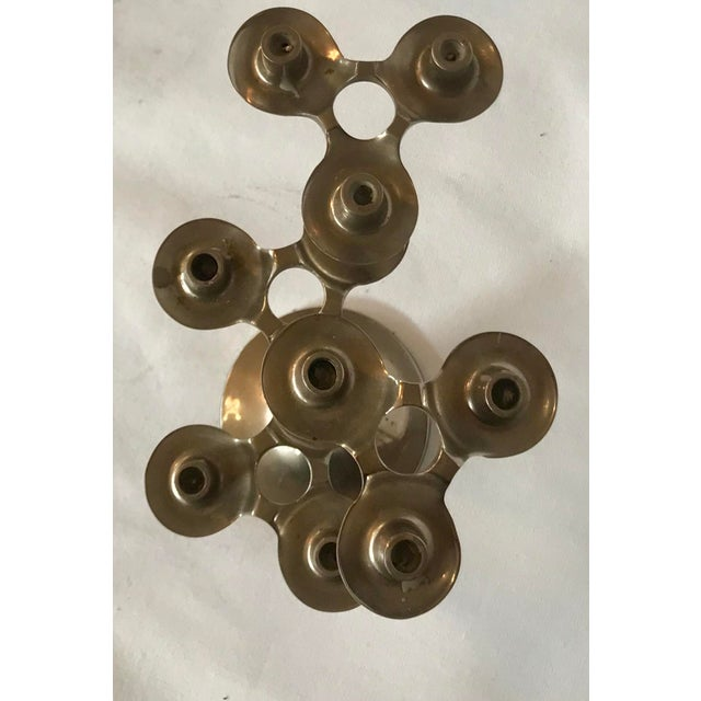 1960s Pair of Fritz Nagel Candle Holders For Sale - Image 5 of 6