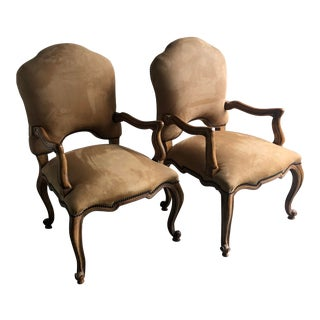 Kreiss Dining Armchairs - Set of 2 For Sale