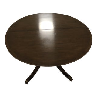 Baker Furniture Round Table & Chairs