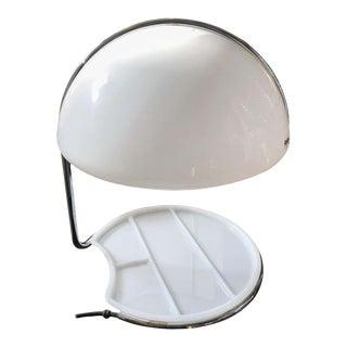 1968 Italian Space Age Buttura & Massoni for Harvey Guzzini Conchiglia Table Lamp For Sale