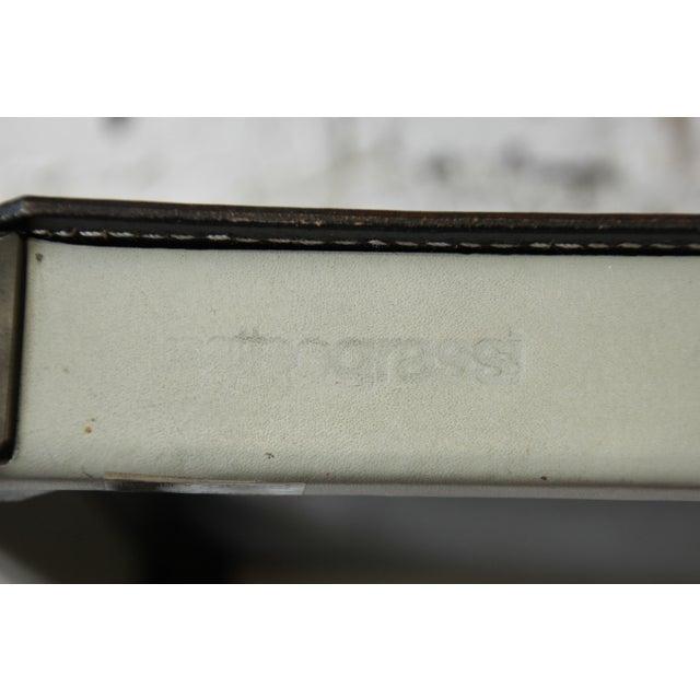 Mateo Grassi Sistina Italian Leather Counter Stools - A Pair - Image 7 of 8
