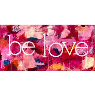 Wendy Pabich Be Love Contemporary Painting For Sale