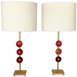 Image of French Table Lamps