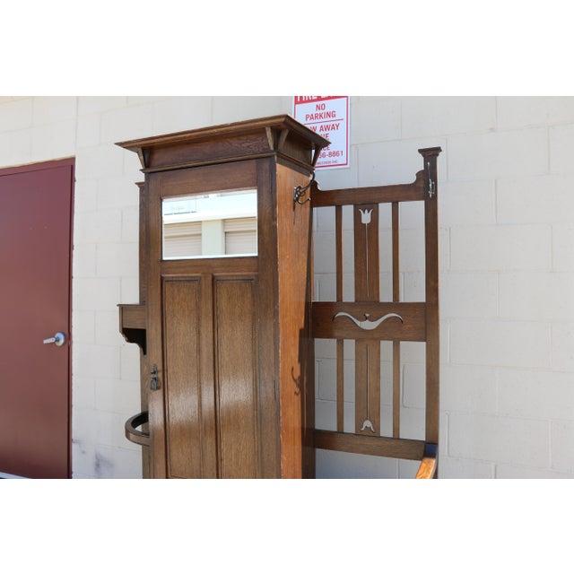 Antique Curio Cabinet - Image 3 of 9