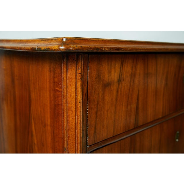 Large 19th Century Biedermeier Commode of Rosewood For Sale - Image 10 of 13