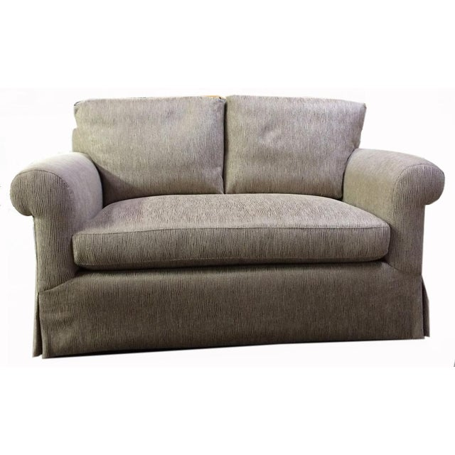 Newly Upholstered 2016 Love Seat With New Cushions For Sale