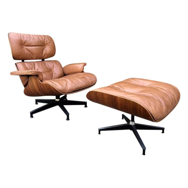 Eames Rosewood Lounge Chair & Ottoman - Image 1 of 8