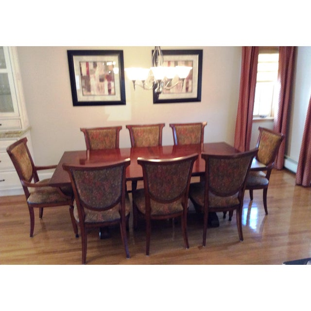 Bernhardt Dining Table and 8 Chairs - Image 4 of 8