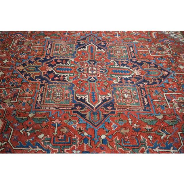 "Vintage Heriz Carpet - 8'1"" X 10'7"" - Image 9 of 10"