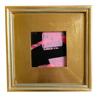 "Jessalin Beutler ""Bubblegum Licorice"" 2021 Framed Mini Painting For Sale"
