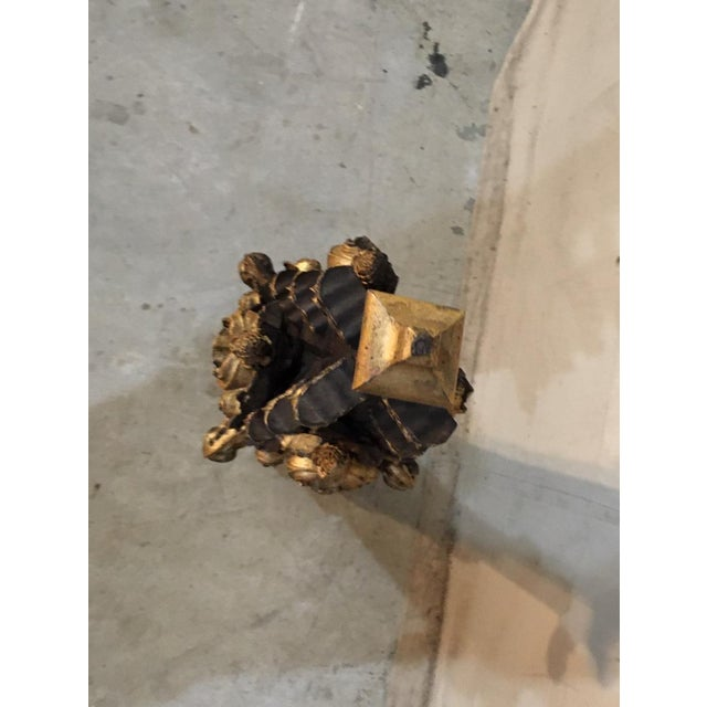 19th Century French Church Spire Interior Fragment For Sale - Image 9 of 11