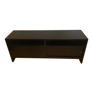 Modern Room and Board Ebony Console For Sale