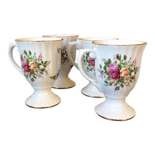 Royal Albert Tea Cups- Set of 4