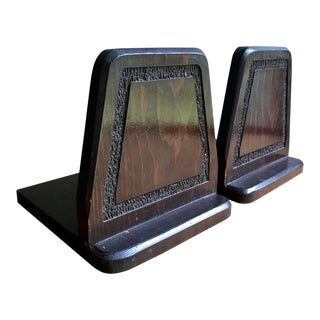 Mid Century Bookends - a Pair For Sale
