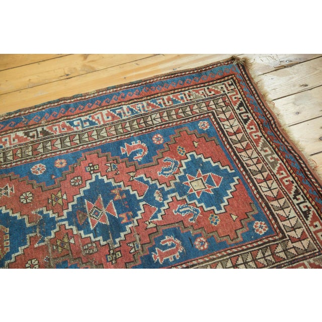 """Vintage Caucasian Rug - 3'6"""" x 6'6"""" For Sale In New York - Image 6 of 10"""