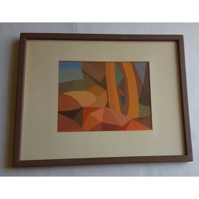 Lyman Abstract Painting - Image 2 of 3