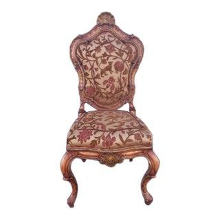 1980s Vintage Emperor Victor Emmanuel Chair For Sale