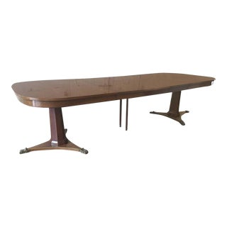 Large Dining Room Table by Baker