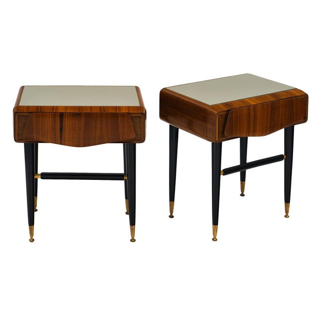 Italian Mid-Century Side Tables - a Pair For Sale - Image 12 of 12