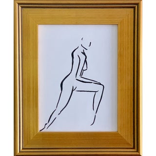 "Lindsey Weicht ""Dancing Female No. 3"" Contemporary Painting For Sale"
