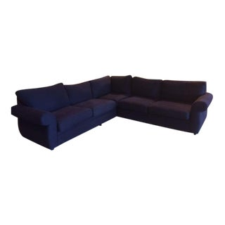 Pottery Barn 2-Piece L-Shape Sectional Sofa