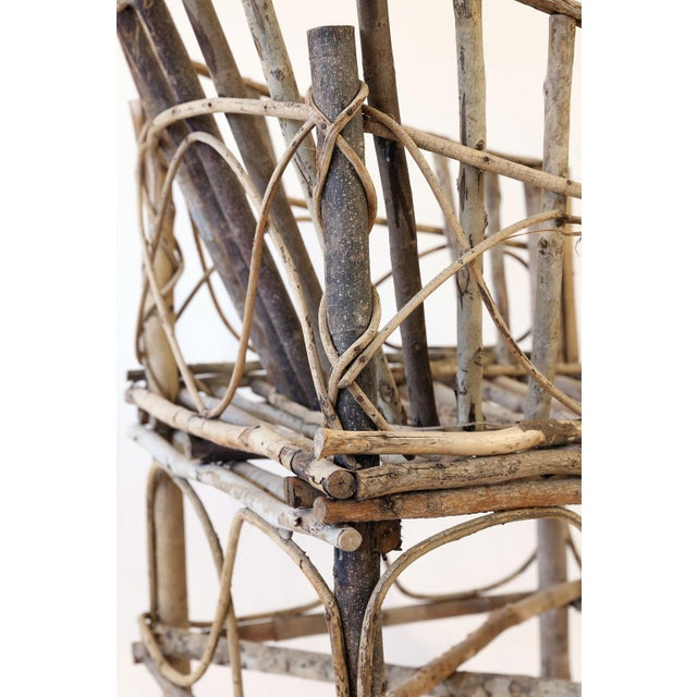 Antique French Twig Chair For Sale - Image 11 of 13