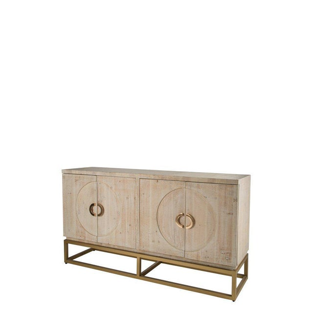 Toretto Sideboard With Gold Legs - Image 2 of 3