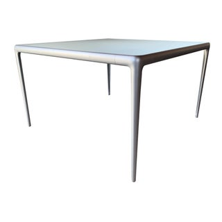 Contemporary B&b Italia Early Mirto Indoor Mirrored Glass Square Dining Table Preview