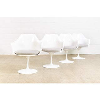 Original Eero Saarinen for Knoll Tulip Arm Chairs Preview