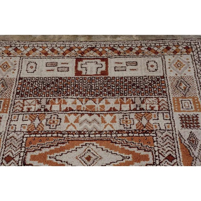 Textile 1950s Moroccan Style Portuguese Rug- 8′ × 10′ For Sale - Image 7 of 10