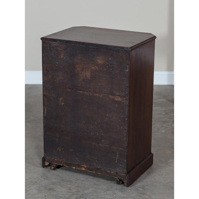 George III Antique English Mahogany Cabinet circa 1780 For Sale - Image 10 of 10