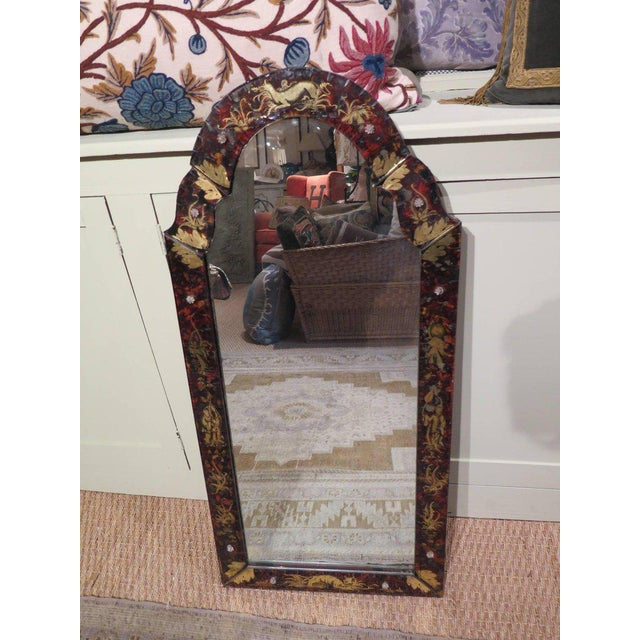 Mid 19th Century Venetian Glass Mirror For Sale - Image 5 of 11