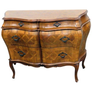 Regency Style Parquetry Commode