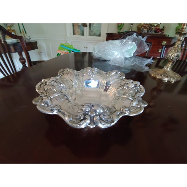 Metal Reed and Barton Sterling Silver Serving Bowl For Sale - Image 7 of 7
