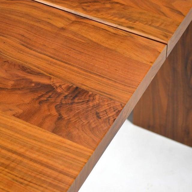 "De La Espada ""Long"" Table in Black Walnut For Sale In Chicago - Image 6 of 11"