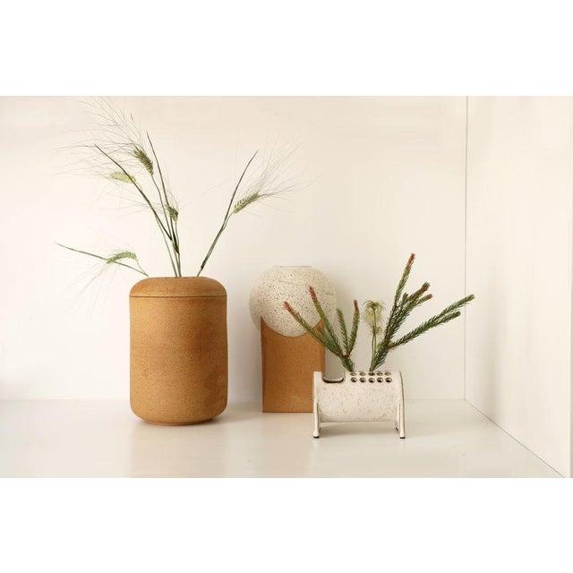 Modern Julianne Ahn Ikebana - Large Thimble Planter For Sale - Image 3 of 4