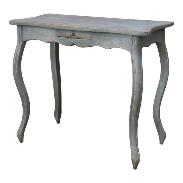Paint 19th Century Painted Swedish Console For Sale - Image 7 of 7