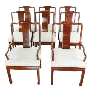 Vintage Rosewood Dining Chairs - Set of 8 For Sale