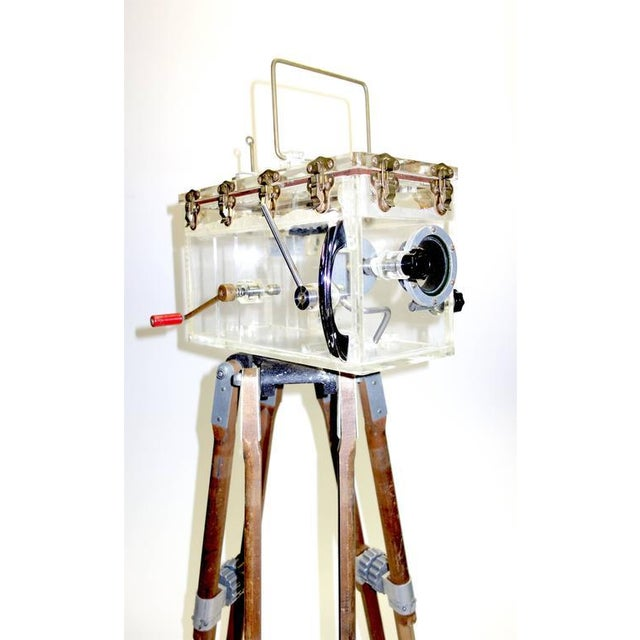 Disney Underwater Movie Camera Housing. Fabricated By 'Original Star Trek' Prop Maker Circa 1950. For Sale - Image 4 of 5