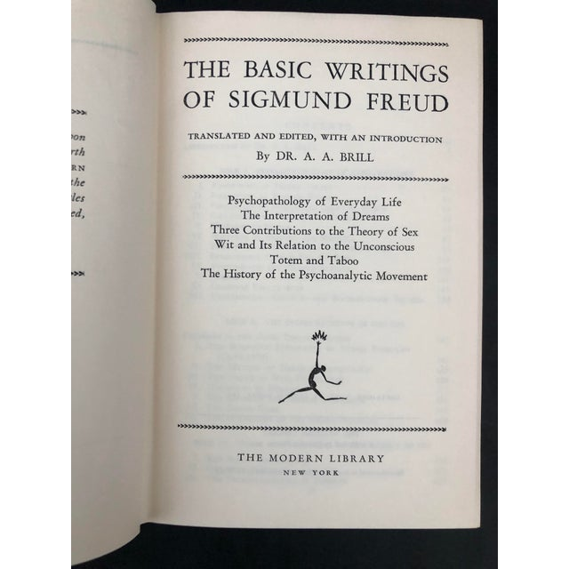 Basic Writings of Sigmund Freud For Sale - Image 9 of 13