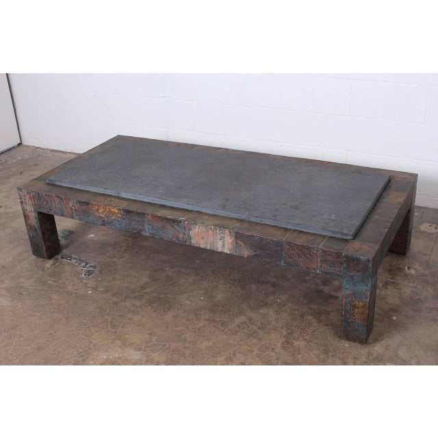 Large Patchwork Coffee Table by Paul Evans - Image 5 of 10