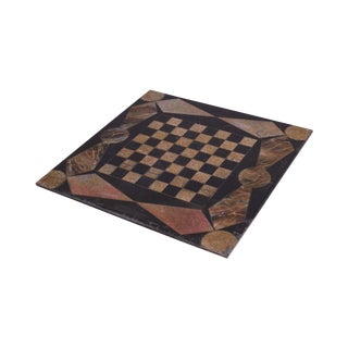 Antique Slate Chess Game Board (A) For Sale