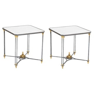 Pair of French Directoire Side Tables For Sale